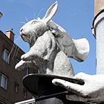 Kaninchen aus dem Hut